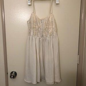 Lace Bodice Babydoll Dress